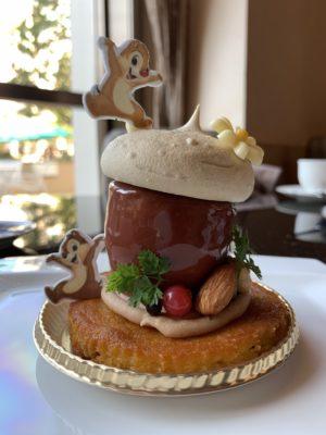 ハイピリオンラウンジのケーキセットがかわいすぎてツライ!!