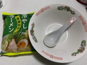 【冷やし青唐辛子ラーメン】KALDIで一番おすすめのラーメン!