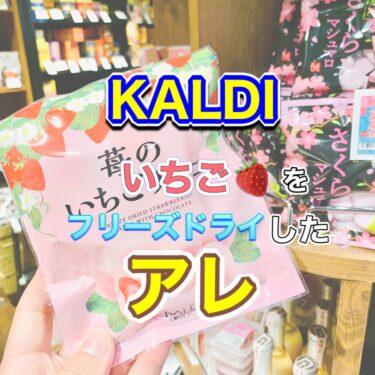 【カルディ】苺のいちごチョコ レビュー!