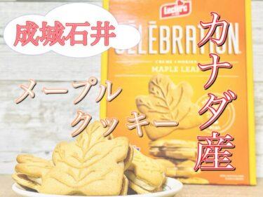 【成城石井】本場カナダ産!セレブレーション メープルクッキーのレビュー!