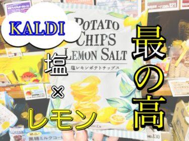 【カルディ】売り切れ必至!?塩レモンポテトチップスのレビュー!