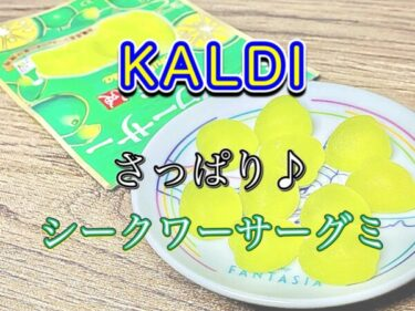 【カルディ】シークワーサーグミのレビュー!